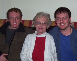 Mom and grandsons